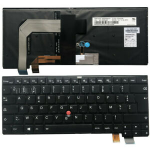 New-FR-for-Lenovo-Thinkpad-T460S-T470S-Backlit-Keyboard-French-clavier-00PA463