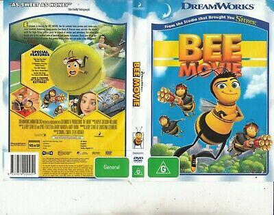 Bee Movie 2007 Animated Movie Dvd Ebay