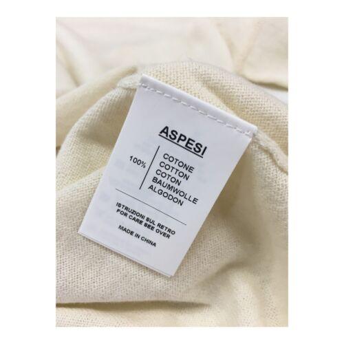 3980 cotone Aspesi Comfort Cardigan Mod Woman 3927 100 Fit Ecru wfXfgxOq