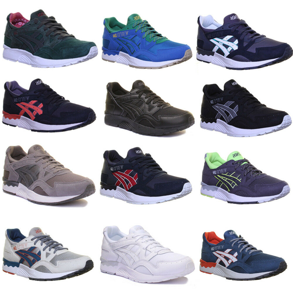 Asics Gel Lyte V  5 Mens Lace Up Running Trainers Size Size 5 - 12