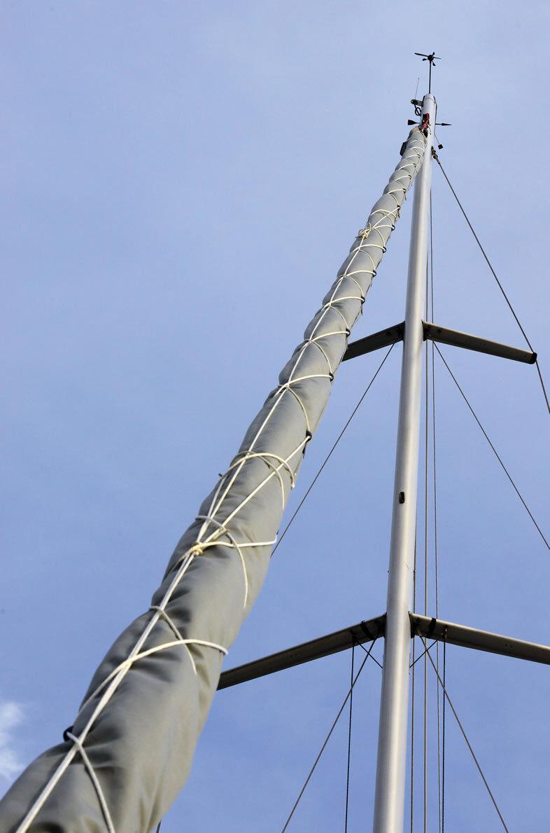 Berichterstattung für Bugstrahlruder Segeln Bugstrahlruder für SMALL Länge 11 Meter Marke 61c098
