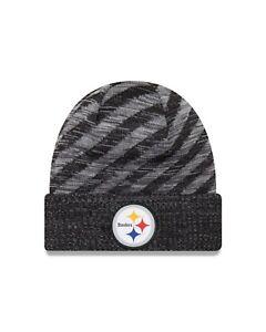 a5ff2586ff3 Pittsburgh Steelers New Era Men s 2018 On-Field TD Knit Hat ...