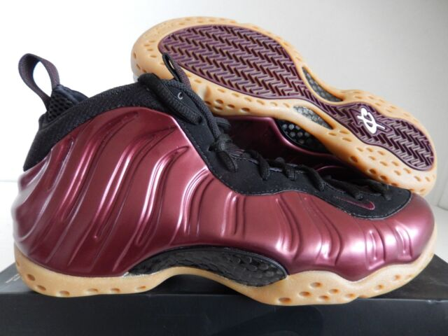 6d4655c39b1ee Nike Air Foamposite One Night Maroon Black Gum Burgundy 314996-601 ...
