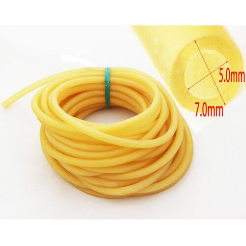10 Meter Latexschlauch 7mm Außendurchmesser ELASTICA Bungee Rubber Tubing 5070