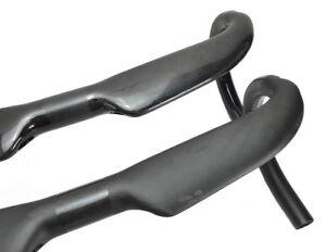 Carbon Fiber UD Road Bike Racing Drop Bar Handlebar 31.8*400//420//440mm No logo