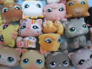 Littlest-Pet-Shop-Set-Lot-of-3-Random-Persian-Kitten-Cats-Authentic-and-Gift-Bag