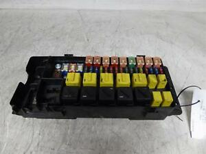 1999 Land Rover Discovery Under Hood Engine Fuse Relay Box ...
