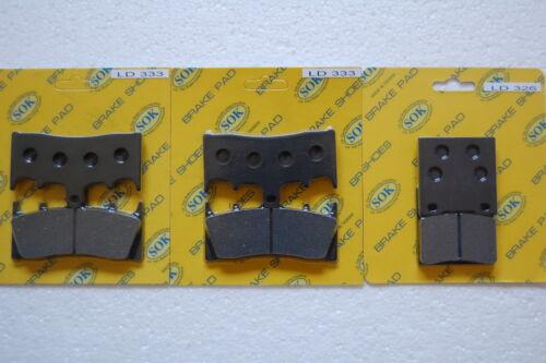 fits GSX-R GSXR 1100 1993-98/' Front Rear Brake Pads SUZUKI GSX-R1100 GSXR1100