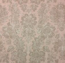 """RICHLOOM TASHA CAPPUCCINO BROWN LINEN FLORAL MULTIUSE FABRIC BY THE YARD 54/""""W"""