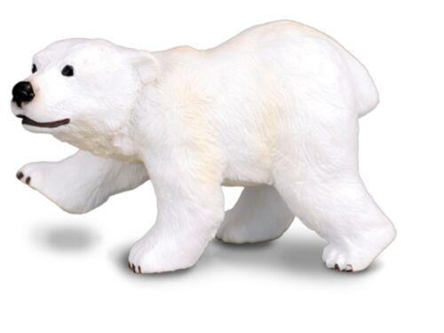 Eisbärjunges stehend 6 cm Wildtiere Collecta 88215