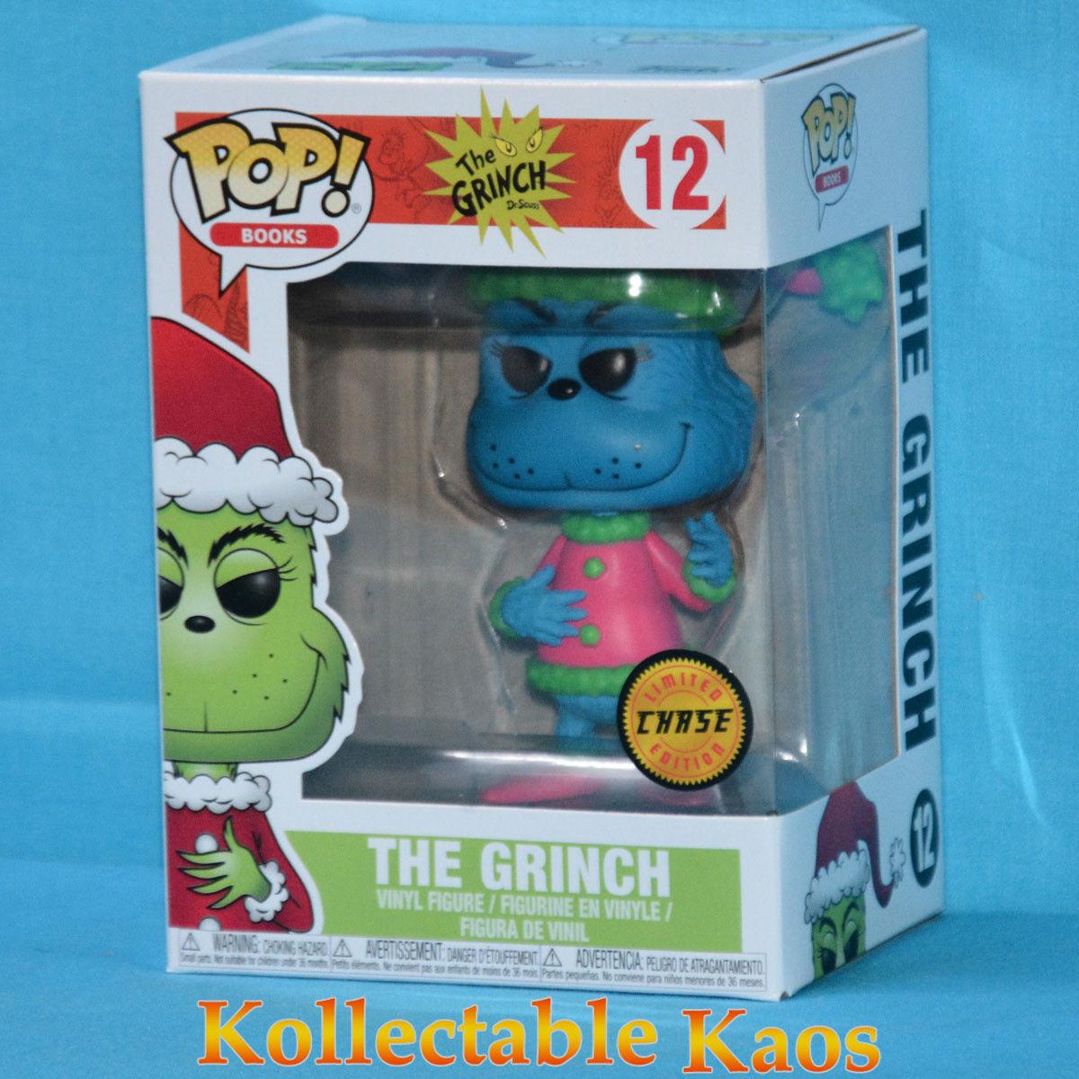 The Grinch - Santa Grinch Pop  Vinyl Figure - Chase