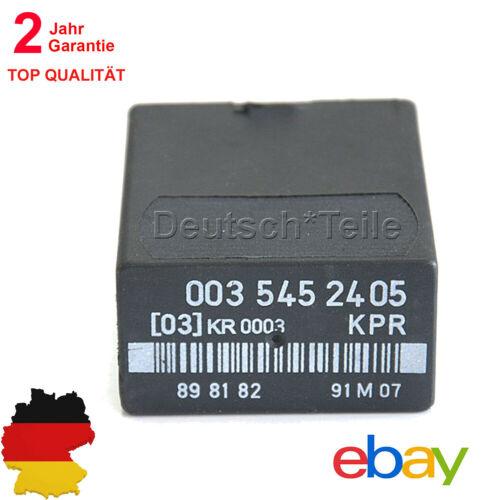 FÜR  Mercedes Kraftstoffpumpenrelais W124 W201 W126 R107 Relais KPR 0035452405