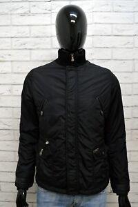 Giubbotto-Nero-Uomo-LIU-JO-Taglia-Size-S-Giacca-Jacket-Man-Cappotto-Giubbino