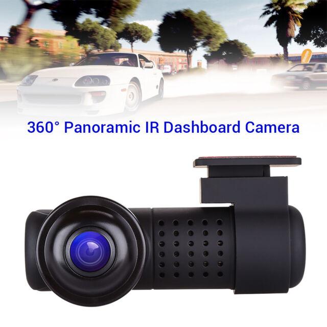Panoramic HD 2160P Novatek 96660 WiFi Car Video Recorder G-Sensor Loop Recording
