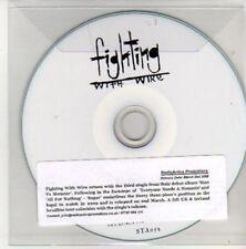 (AL10) Fighting With Wire, Sugar - DJ CD