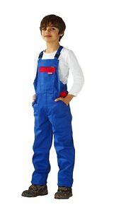Kinder-Latzhose-Arbeiterhose-Arbeitshose-Schutzhose-PLANAM-Baumwolle-290-g-m