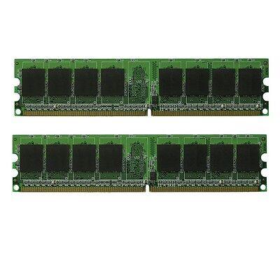 667MHz 2GB 2x1GB Memory RAM for HP Compaq SR5250NX Series DDR2 PC2-5300