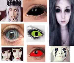 Sclera Coloured Contact Lenses Kontaktlinsen color contacts lens 22mm lentilles