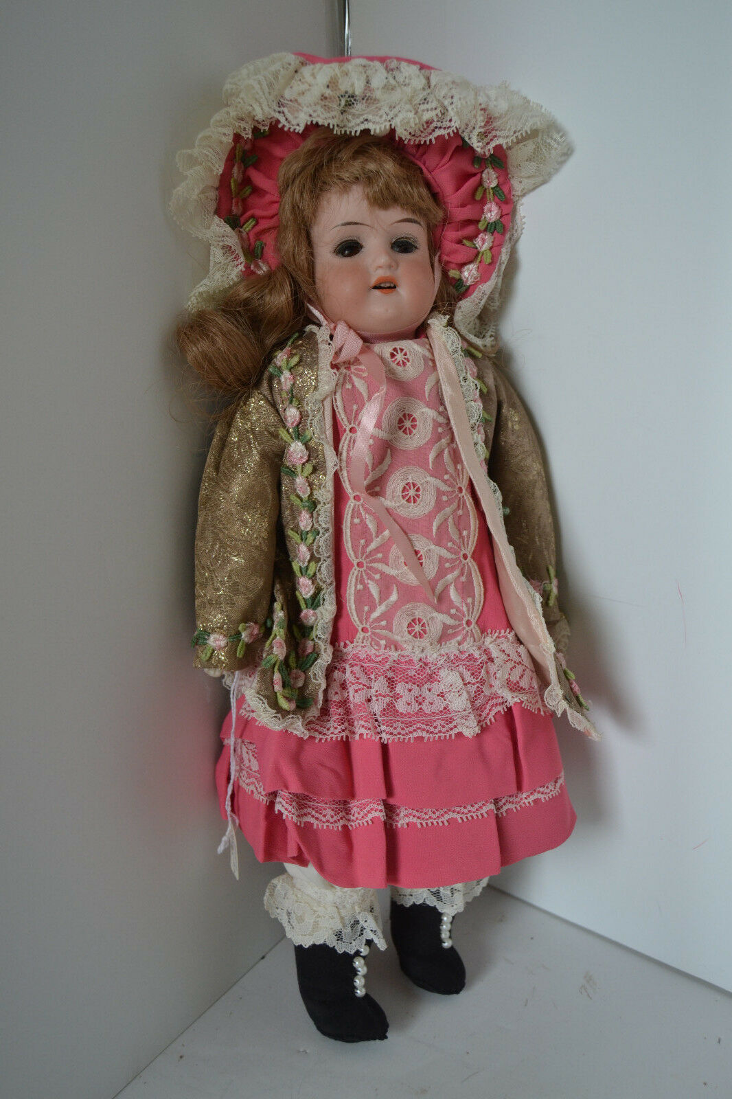 15  ARMAND MARSEILLE GERMANY 370 Open and close EYES OPEN MOUTH DOLL