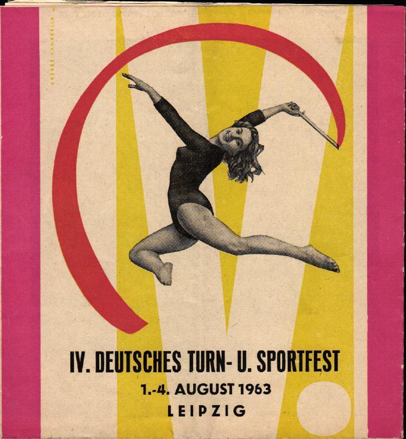 02.08.1963 IV. Deutsches Turn- und Sportfest mit DDR - Ungarn (Olympiaauswahl)