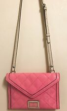 NWT GUESS Passion Flowering Mini Logo Embossed Crossbody Bag SY628778