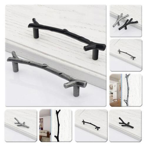 Tree Branch Handle Cabinet Pull Knob Drawer Pulls Handles Furniture Decor LA
