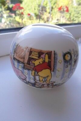 Royal Doulton Winnie the Pooh Money Box Unused