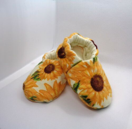 Flower Baby Shoes Anti-slip Slippers Sunflower Baby Moccasins