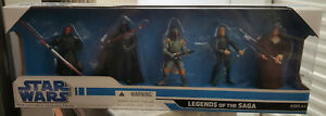 Star-Wars-5-Pack-Legacy-Saga-Legends-3-3-4-034-Figure-Box-Set