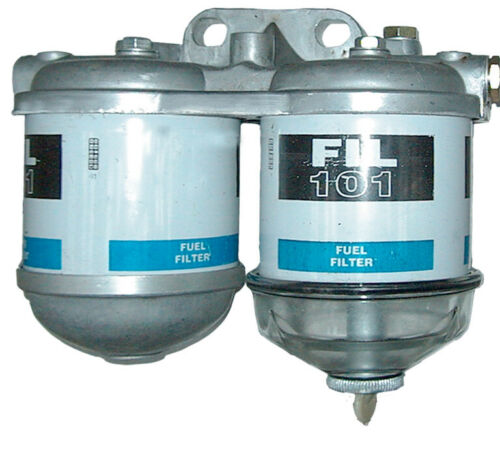 """Konsole doppelte Filterkonsole für Filter Case IHC 1//2/"""" Dieselfilter Schauglas"""