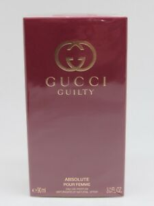 Gucci Guilty Absolute Pour Femme EDP 3.0 oz   90 ml  NEW IN BOX ... 4d4cc6bc2a6