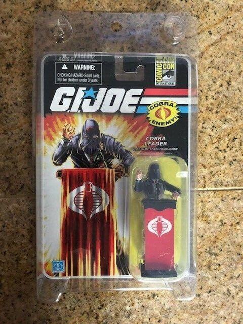 2008 SDCC Comic con GI Joe Cobra Leader Comuomoder Variant Rare