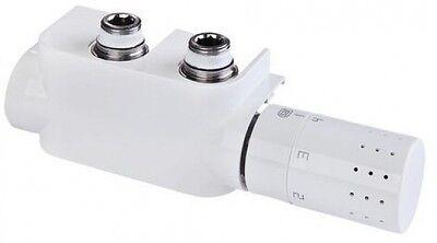 Simplex Design Thermostat Armatur Multiblock-Set F12013 weiss, rechts