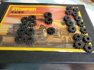 Vintage-Schaper-Stomper-4x4-Tires-Lot-of-25-Foam-Rubber-Semi
