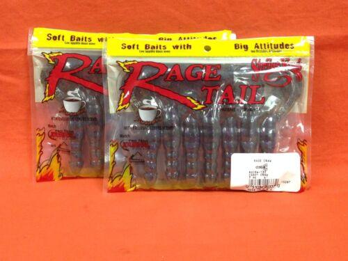 "#RGCRW-130 Candy Craw STRIKE KING Rage Tail 4/"" Rage Craw 2 pk 7 cnt"