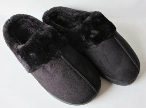 Damen Winter-Hausschuhe Größe 40//41 Slipper Velouroptik Pantoffeln