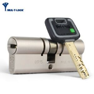Mt5 Mul T Lock Cylinder High Security 80mm 40 40 Mm Euro Profile