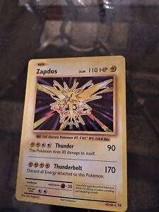 New Listing Zapdos Holo Rare 42/108 XY Evolutions Holo Foil Pokemon Card
