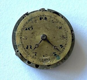 Antique-FQUE-WELTA-Swiss-Pocket-Ladies-Watch-Movement-15j-swiss-Parts-Repair
