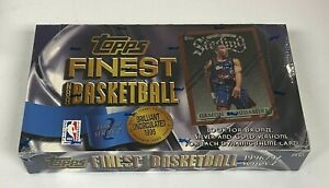 1996-97 Topps Finest Basketball Series 2 Factory Sealed Unopened Hobby Box