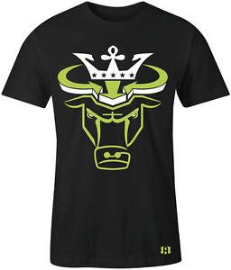 034-CROWN-BULL-034-T-Shirt-to-Match-Air-Retro-14-034-INDIGLO-034