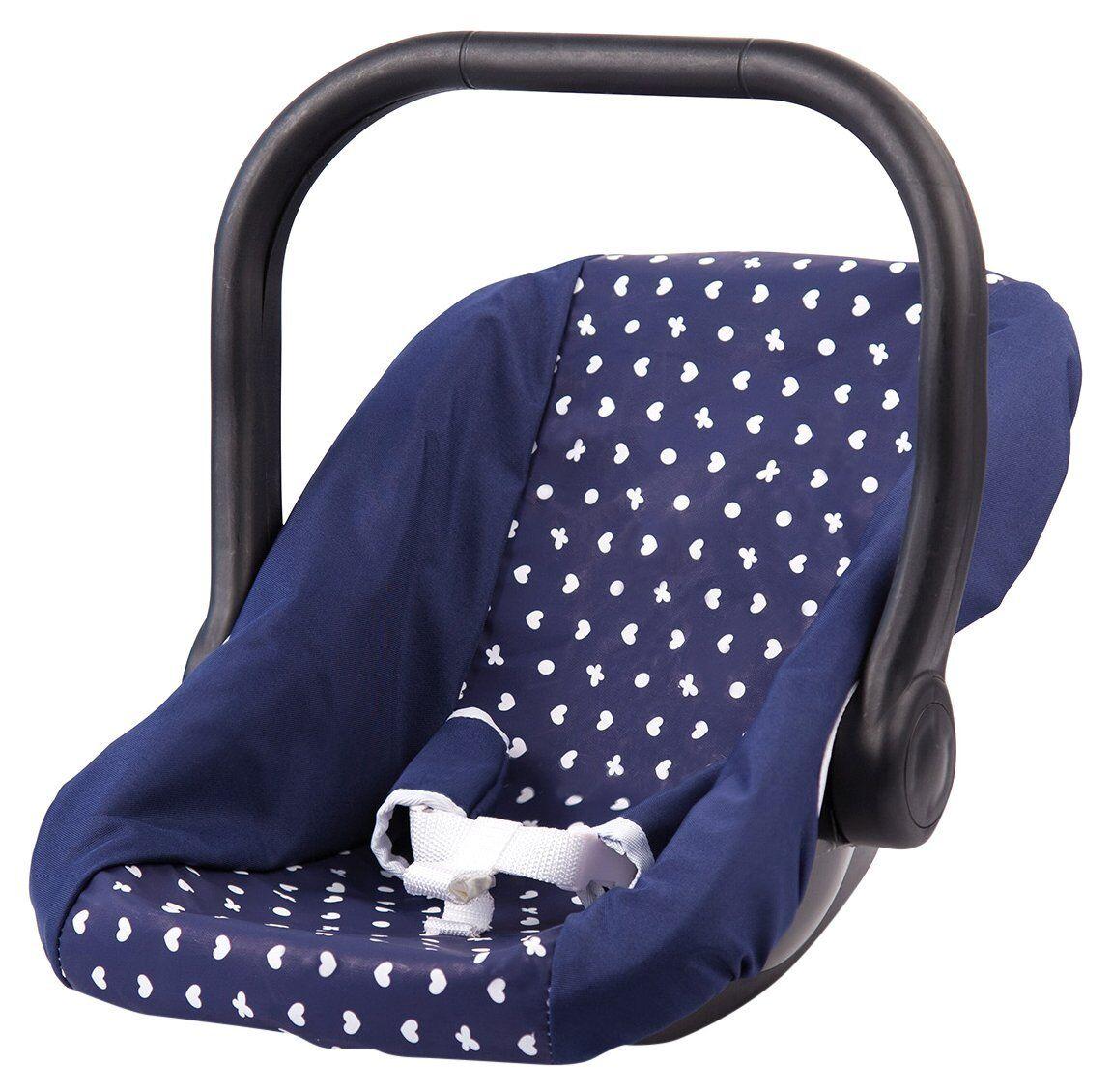Bayer Design 67851AA Classic Doll Car Seat  Blau