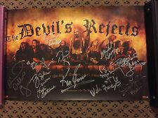 The Devil's Rejects poster signed by Haig, Moseley, Berryman, Foree, Soles etc.