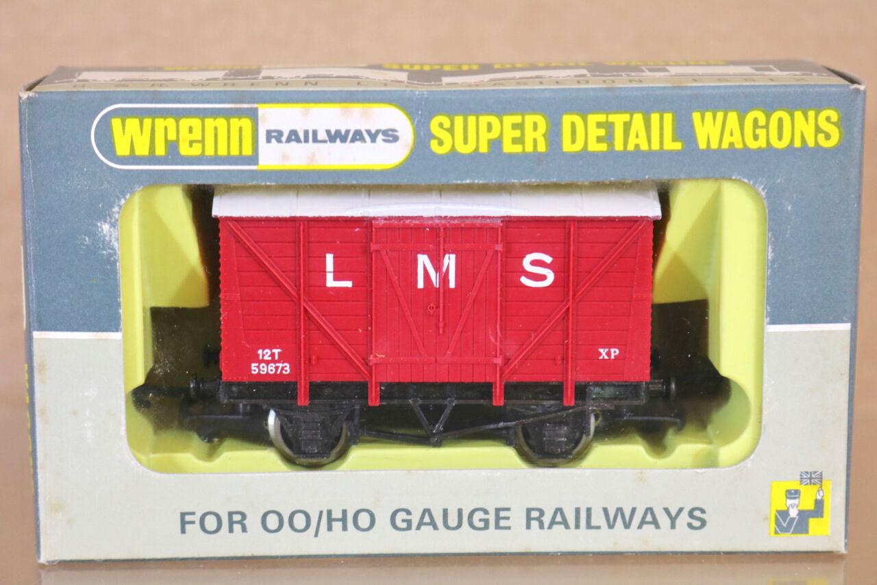 Wrenn W5030 whiteo Techo Lms Red 12 Toneladas Descarga Van Wagon 59673 Mint