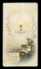 "santino-holy card""""ediz. NB serie ROMA  n.10 ANNIV. SACERDOZIO CAGLIARI1939"