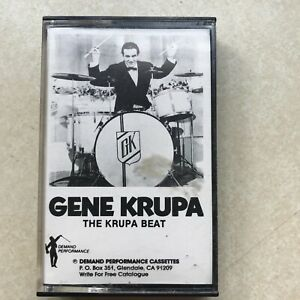 Gene Krupa The Krupa Beat Cassette Tape