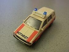 Rietze Sondermodell Notarzt Mitsubishi Space Wagon Blaulicht aus Sammlung