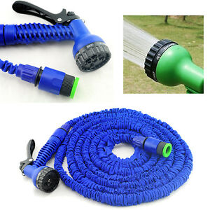 Latex 125 150 200 Ft Feet Expanding Flexible Garden Water