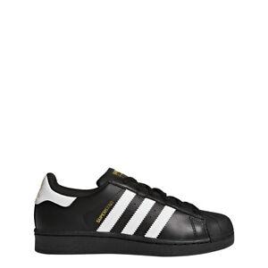 adidas Originals Boys' Superstar Foundation J Sneaker, Import It All