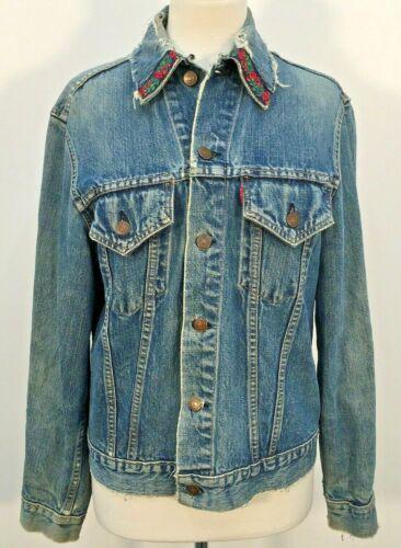 VTG 60s Levis Big E Blue Cotton Sanforized Denim E
